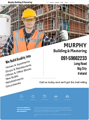 Building Contractor's Bebsite